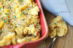 "Creamy Butternut Squash Macaroni & Cheese.   Using vegetarian ""chicken"" broth makes this a cruelty-free, delicious dish."