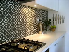Moroccan splash back ideas for Contemporary Kitchens