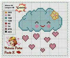 This Pin was discovered by eli Pixel Crochet, Crochet Cross, Crochet Chart, Cross Stitch Heart, Cute Cross Stitch, Cross Stitch Alphabet, Cross Stitching, Cross Stitch Embroidery, Baby Cross Stitch Patterns