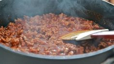 Easy Homemade Hot Dog Chili Recipe~ Southern Style | Divas Can Cook