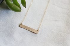 Morse Code Necklace A Morse Code necklace is so beyond special and unique because each piece is made to fully tell a secret something to the lady wearing it. It makes a perfect gift for your loved one and a gift they will cherish forever. Its simple, unique and fully personalized to create a meaningful story of their lives. We can do approx 14 morse code characters on a bar (a character consists of each . and each _, please refer to the chart given in picture #5 to see if your word/s will…