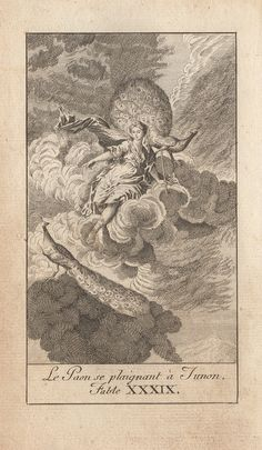 """""""The Peacock Complaining To Juno""""  (Recueil 1, Livre 2, fable 17)"""