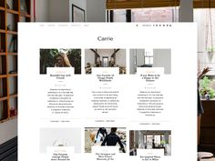 New Carrie Layout designed by Creanncy 👸. Best Web Design, Carrie, Beautiful Day, Layout Design, Carry On, Inspiration, Biblical Inspiration, Hand Luggage, Page Layout
