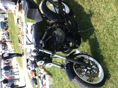 at a bike show my uncle took me to we found this bike it was taking care of really good