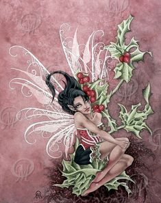 Holly Berry Faery by orafaerygirl on DeviantArt
