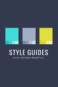 50 Meticulous Style Guides Every Startup Should See Before Launching
