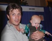 Nathan Fillion and babies