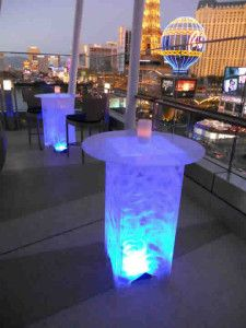 LED Furniture is a great way to make your event pop. Find out what your options are and where you can find LED Furniture for events. Ibiza Party, Led Furniture, Sin City, Cocktail Tables, City Lights, Event Decor, Events, Entertaining, Decor Ideas
