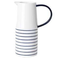 Design House Stockholm Catharina Kippel Cobalt Handle Jug | Pure Home