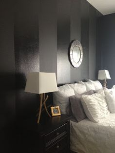 matte and gloss black stripes | If Walls Could Talk | Pinterest ...