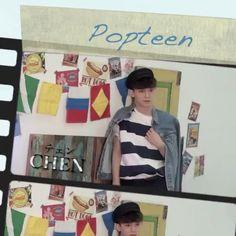 "[VIDEO] Via @popteen_official on Instagram: ""みなさん、お待たせしました💕 Popteen7月号の表紙を飾ってくれたEXO-CBXさんの撮影メイキング動画を少しずつUPしていきます☺️まずは、圧倒的な歌唱力が魅力のCHENさん👏 EXO-…"""