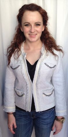 White jackets can be a bold statement!