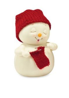 Dept 56  Knitters Making Scarf Figurine