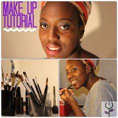 Maquillaje de día para piel negra http://www.negraflor.com/2013/12/18/maquillaje-de-dia-para-piel-negra/