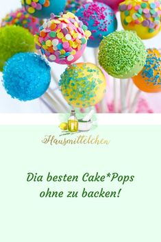 Cake*Pops With my instructions you can make DU Cake * Pops for every occasion! ________________________________________ # hausmittelchen_at # help Cake Basketball, Glace Diy, Buckwheat Cake, Ricotta Cake, Zucchini Cake, Valentines Day Food, Saint Valentine, Romantic Dinners, No Bake Cookies
