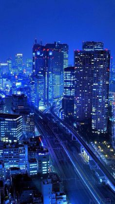 Tokyo capital Japan Asia world trade center city Blue Aesthetic Dark, Aesthetic Colors, Aesthetic Pictures, Urban Aesthetic, Aesthetic Anime, Blue Wallpaper Iphone, Blue Wallpapers, Dark Blue Wallpaper, Sunset Wallpaper