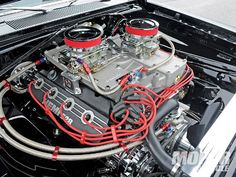 1968 Dodge Dart GTS Hemi Engine.