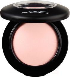 MAC Mineralize Blush Color:Dainty (light yellow pink w/ gold pearl)Dainty (light yellow pink w/ gold pearl) Mac Makeup, Blush Makeup, Beauty Makeup, Prom Makeup, Drugstore Makeup, Beauty Skin, Makeup Tips, Mac Mineralize Blush, Mac Blush