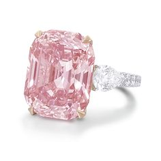 What is diamond color? It's part of the of diamond education and it's talking about the lack of color in a diamond. Here you'll discover what you need to know about diamond color, as well as, myths, tricks to watch out for, and money saving tips. Pink Love, Pretty In Pink, Perfect Pink, Hope Diamond, Huge Diamond Rings, Blue Diamond Jewelry, Pink Diamond Ring, Pink Ring, Mode Glamour