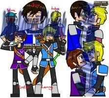 Minecraft story mode OCS #01 by MaylovesAkidah