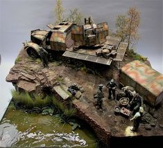 German anti-aircraft unit