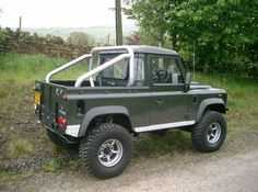Land Rover 90 Truck Cab Cosmetic Hoop