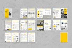 Ad: Business Proposal Vol. 7 by TypoEdition on Proposal. This is a modern and powerful template for a Proposal. 20 pages possibility of creating many unique spreads. Indesign Templates, Print Templates, Brochure Template, Brochure Layout, Brochure Design, Creative Brochure, Corporate Brochure, Corporate Design, Business Proposal
