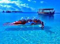 The Conrad Maldives Offers Daily Submarine Tours While the man behind Virgin Atlantic races to launch his luxury underwater adventure submarines; the Conrad Maldives has already launched their first daily private submarine tours.