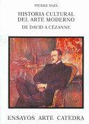 Historia cultural del arte moderno : de David a Cézanne / Pierre Daix ; traducción de Alicia Martorell Edición 1ª ed Publicación Madrid : Cátedra, 2002