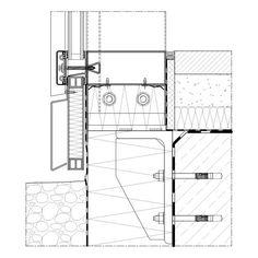 Außentür detail fußpunkt  Bildergebnis für pfosten riegel fassade sturzdetail | Fassade ...
