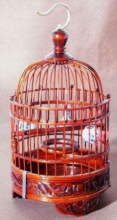 Oriental Products: Domed Chinese Bamboo Bird Cage