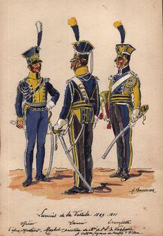Henri Boisselier - Les lanciers de la légion de la Vistule 1809-1811 | Collections, Militaria, Accessoires, pièces détachées | eBay!