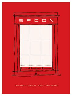 GigPosters.com - Spoon