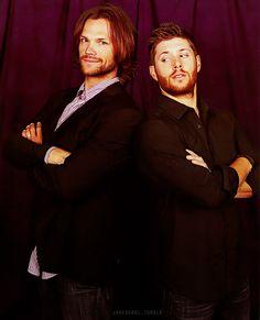 Scruff Brothers <3 #JensenAckles #Jared