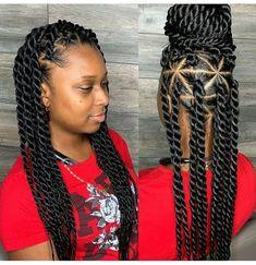 Box Braids Hairstyles Idea recent new braiding hairstyle latest 2019 box braids styles Box Braids Hairstyles. Here is Box Braids Hairstyles Idea for you. Box Braids Hairstyles box braids hairstyle 278913 65 box braids hairstyles for. Twist Braid Hairstyles, Braided Hairstyles For Black Women, African Braids Hairstyles, Black Hairstyles, Fancy Hairstyles, Roll Hairstyle, Fashion Hairstyles, Hairstyles 2018, Beautiful Hairstyles