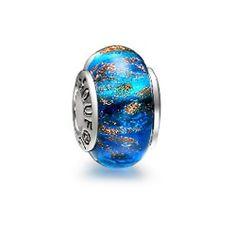 .925 MURANO GLASS BEAD FOR European Charm Bracelet Duck