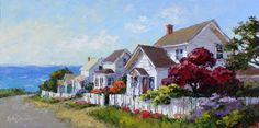 Erin Dertner's Easel Events: 2015 Show at Highlight Gallery Mendocino