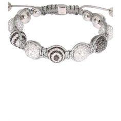 Shamballa Jewels White Gold, White Diamonds And Black Diamonds... ($61,225) ❤ liked on Polyvore