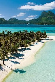 Amazing Snaps: About Tahiti (the photo just gave me a quick 'mental' vacation!)