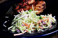 Broccoli Slaw Recipe - Cooking   Add a Pinch   Robyn Stone