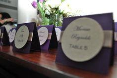 Elegant Purple and Cream Beach Bridal Shower   CatchMyParty.com