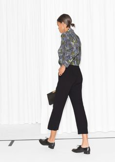 & Other Stories | Tree Snake Print Jumpsuit