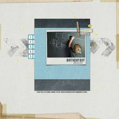 birthday boy - Digital Scrapbooking Ideas - DesignerDigitals