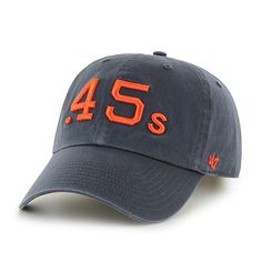 Houston Astros Colt .45s 47 Brand Navy Clean Up Slouch Adjustable Strap Hat  Cap Caps a400a71f1bdc