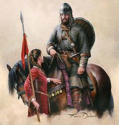 Medieval Knight, Medieval Art, Medieval Fantasy, Medieval Drawings, Viking Warrior, 11th Century, Character Portraits, Dark Ages, Military History