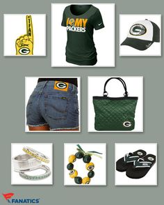 Green Bay Packers Outfit! Is your wardrobe ready for football season   Packers Gear a6430e2d7