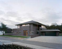 Villa in Limburg : moderne Huizen door Engelman Architecten BV