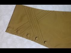 Designer Trouser Cutting And Stitching - New Trouser Design Cutting 2018 Kurti Sleeves Design, Sleeves Designs For Dresses, Kurta Neck Design, Neck Designs For Suits, Dress Neck Designs, Sleeve Designs, Kurta Designs Women, Salwar Designs, Salwar Pants