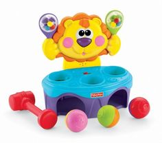 Brinquedo Fisher Price Go Baby Go! Bop & Rock Musical Lion