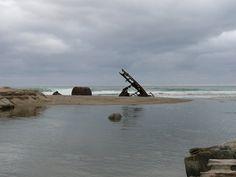 Shipwreck and Boiler - Sikhombe Transkei